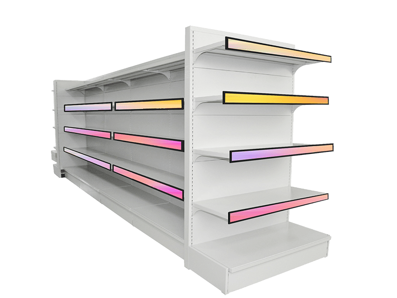 Digital Shelf Edge LCD Display